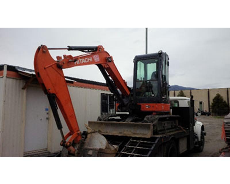 Hitachi ZX50U Mini Excavator