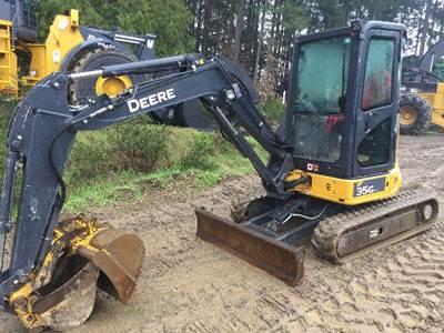 2017 John Deere 35G Mini Excavator For Sale, 1,200 Hours   Nanaimo, BC    0U278160   MyLittleSalesman com