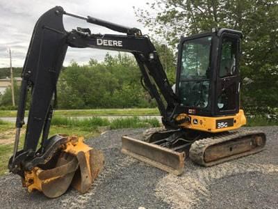 2016 John Deere 35G Mini Excavator