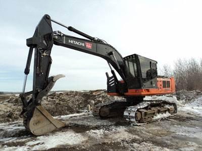 2012 hitachi zx240f 3 road builder excavator for sale 9 335 hours