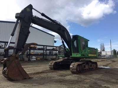 2012 john deere 3754d road builder excavator for sale 8 700 hours