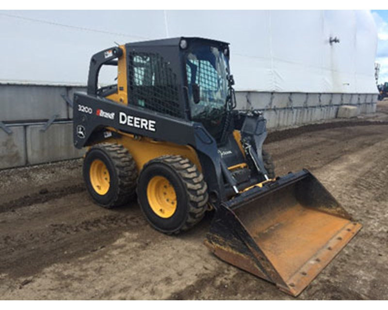 John Deere 320D Skid Steer Loader