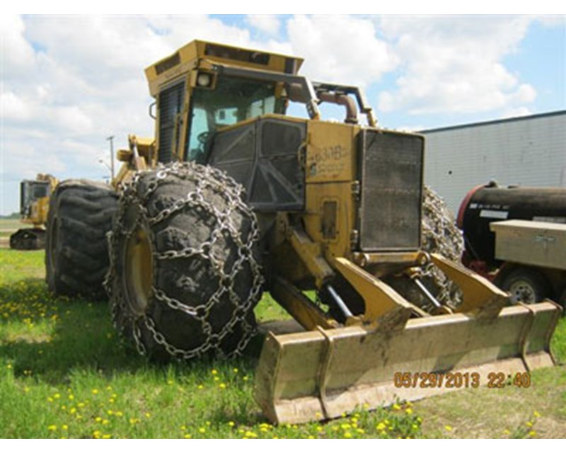 Tigercat 630B Skidder