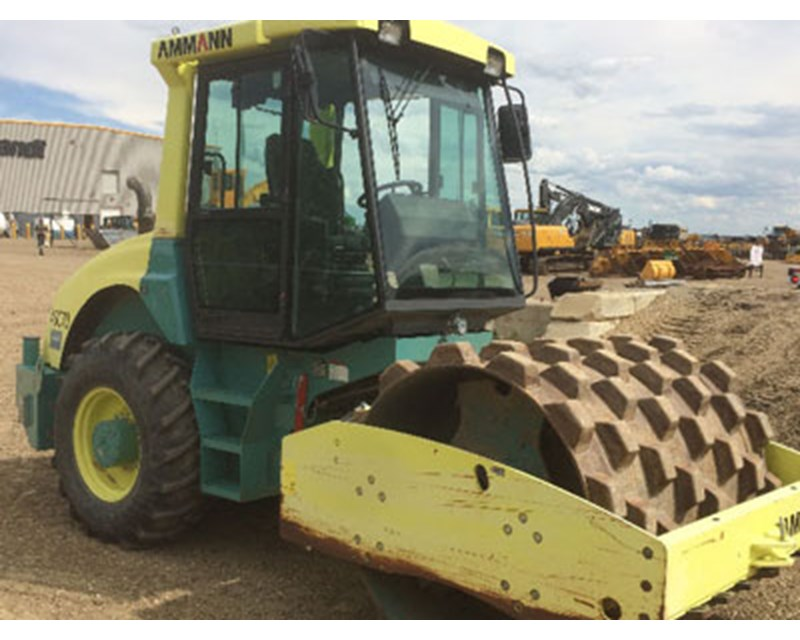 Ammann ASC70 Smooth Drum Compactor