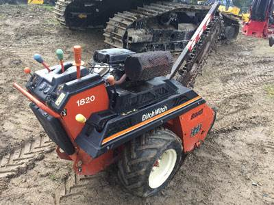 2007 Ditch Witch 1820HE Trencher For Sale, 400 Hours | Nanaimo, BC |  0U000754 | MyLittleSalesman com