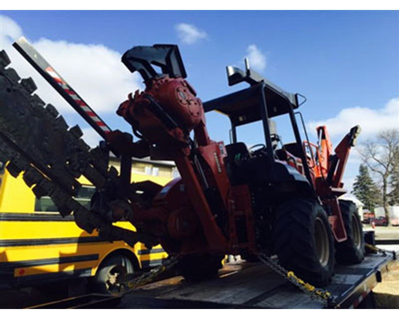 Ditch Witch TR115 Trencher