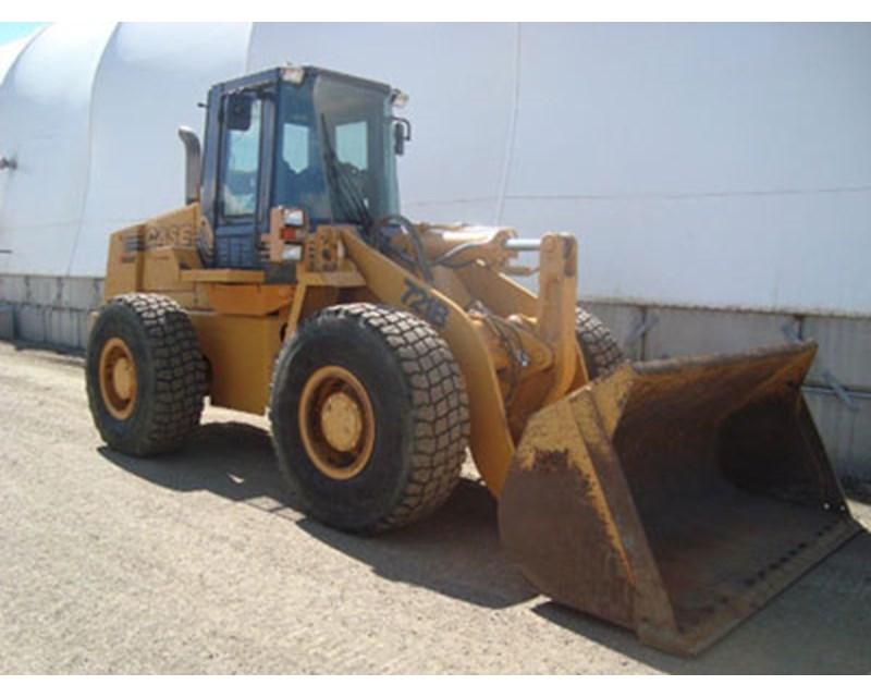 CASE 721B Wheel Loader