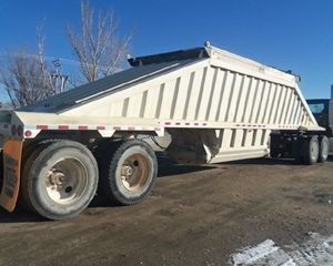 CTS Bottom Dump Semi Trailer