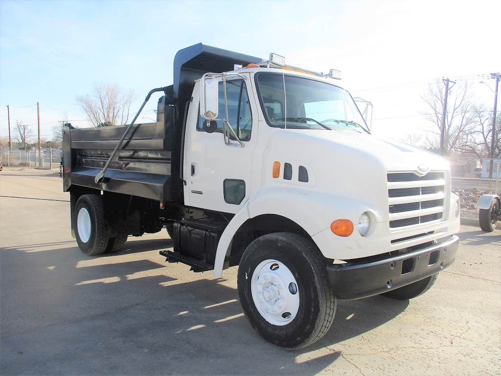 2000 Sterling L7500 Dump Truck For Sale  78 829 Miles