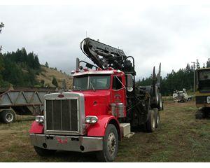 Peterbilt 3406C Logging Truck