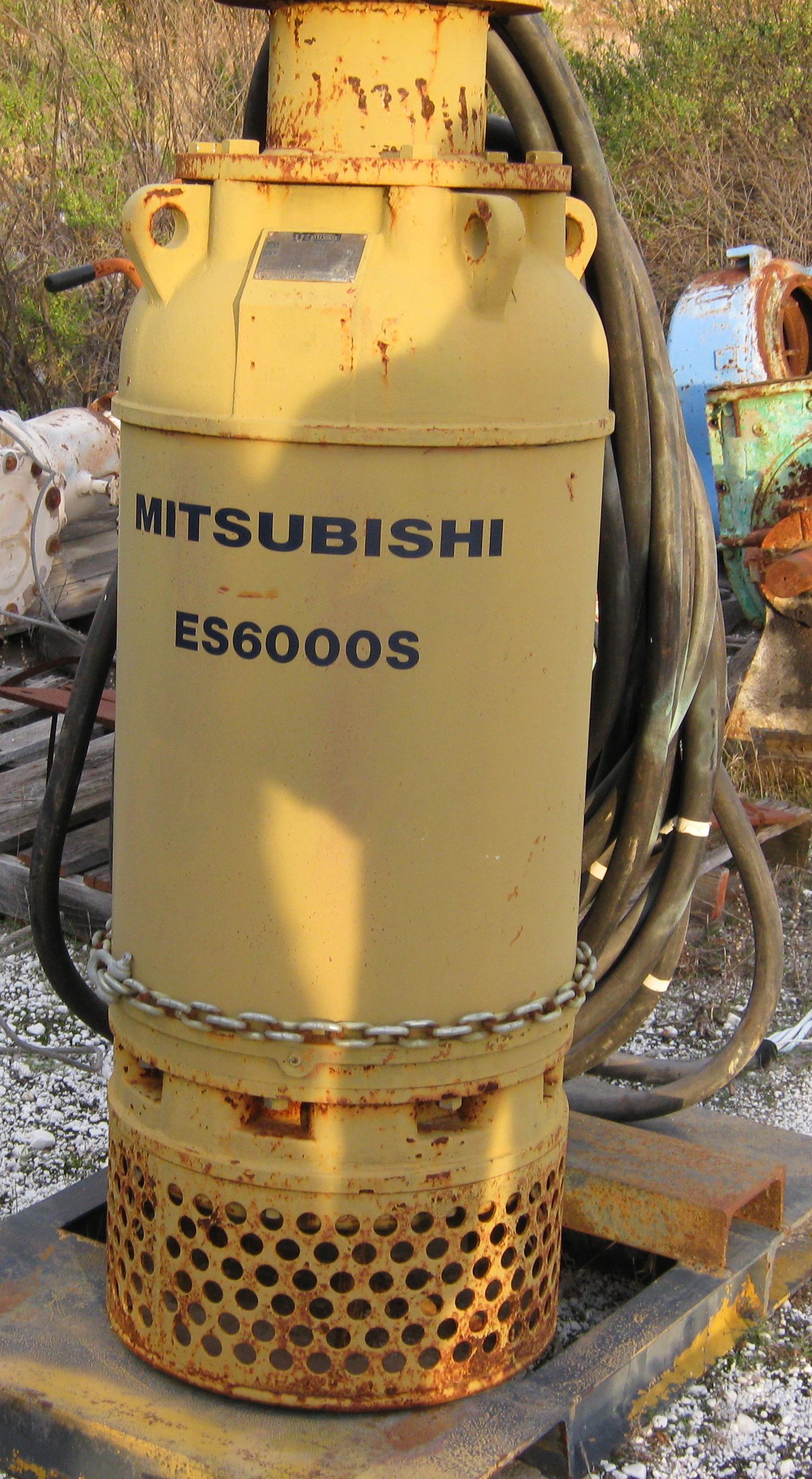 Mitsubishi ES6000S Pump