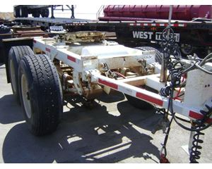 Homemade TANDEM AXLE DOLLY Dolly Trailer