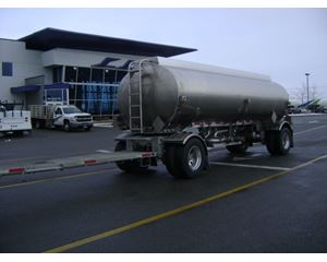 Heil 5000 GALLON FUEL PUP Gasoline / Fuel Tank Trailer