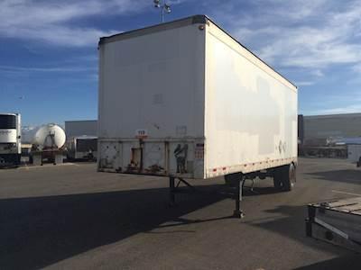 Storage Trailers For Sale >> Monon 28 Dry Van Storage Trailers For Sale