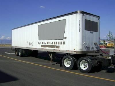 Storage Trailers For Sale >> 1998 Wabash 48 Storage Van Container Storage Trailer