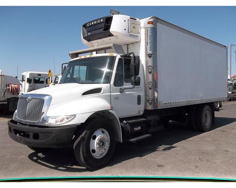2007 international 4300 refrigerated truck for sale fresno ca. Black Bedroom Furniture Sets. Home Design Ideas