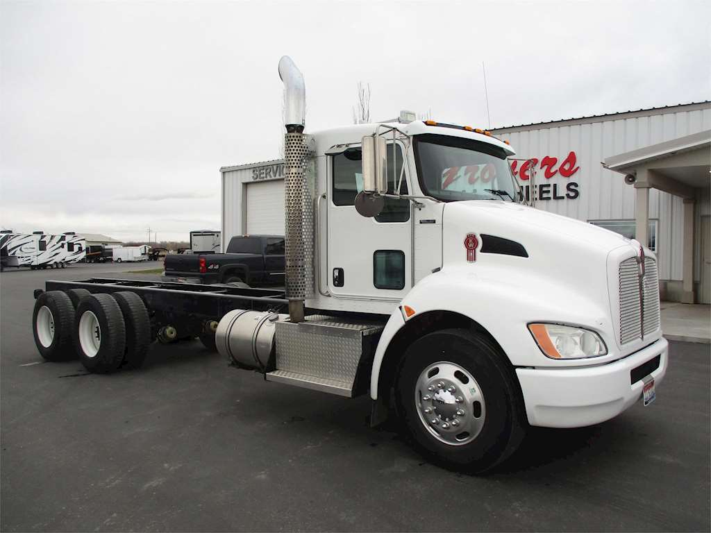 2009 Kenworth T370 Day Cab Truck For Sale, 112,000 Miles ...