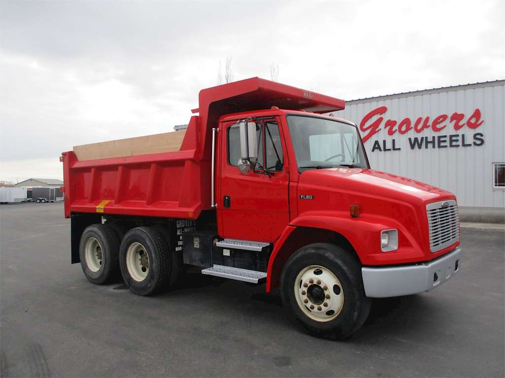 2004 freightliner fl80 heavy duty dump truck for sale 86 500 miles rigby id 9032591. Black Bedroom Furniture Sets. Home Design Ideas