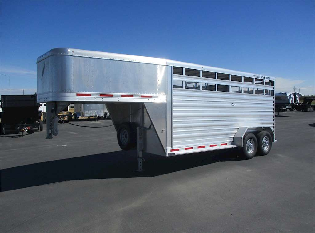 2017 Featherlite 8117 Livestock Trailer For Sale Rigby