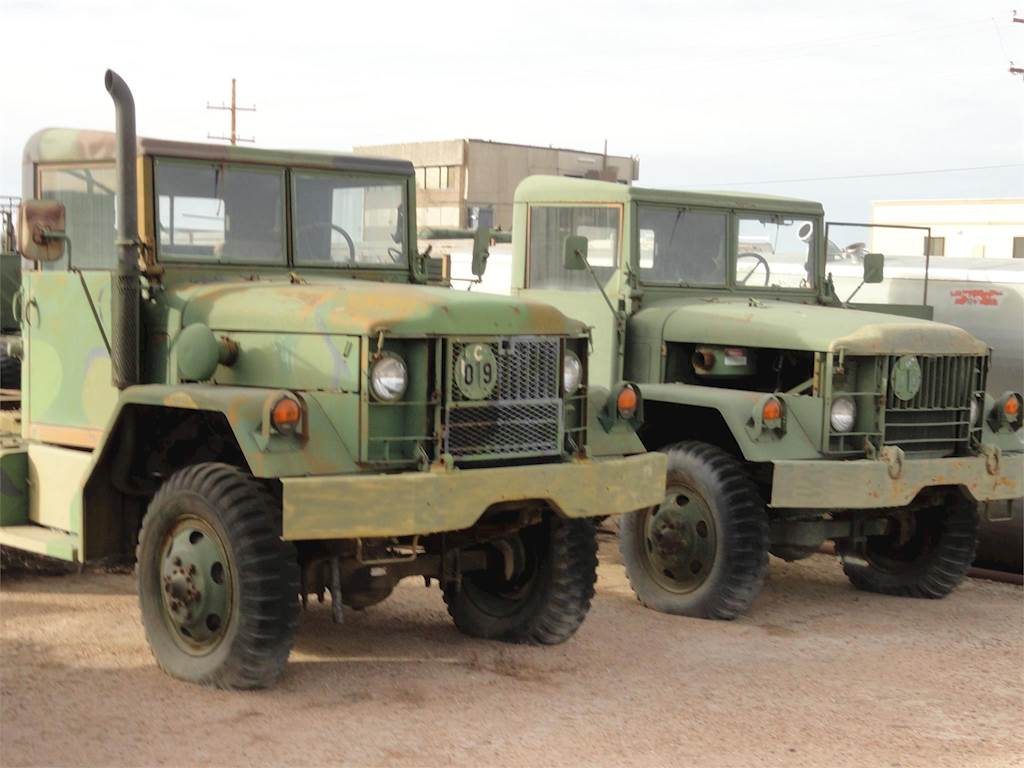 1977 Kaiser M35a2 Day Cab Truck For Sale 12000 Miles Lamar Co