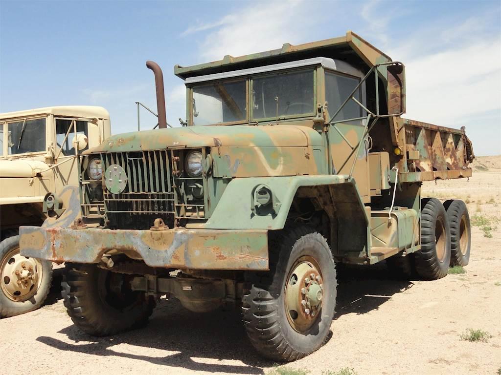 1963 AM General M51 Tandem Axle Dump Truck For Sale, 11,000 Miles | Lamar,  CO | 31-11 | MyLittleSalesman com