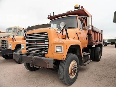 ford dump trucks for sale mylittlesalesman com rh mylittlesalesman com 1986 Ford L8000 1988 Ford L8000