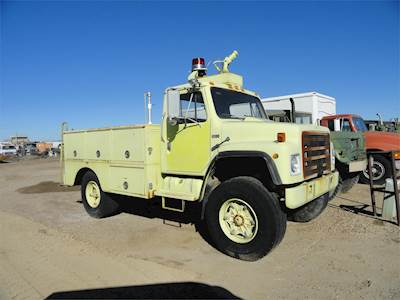 1986 International S1800 Fire Truck, Automatic