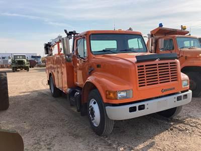 1998 International 4700 Mechanic / Service Truck