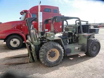 1988 DTC DTC8606 Rough Terrain Forklift