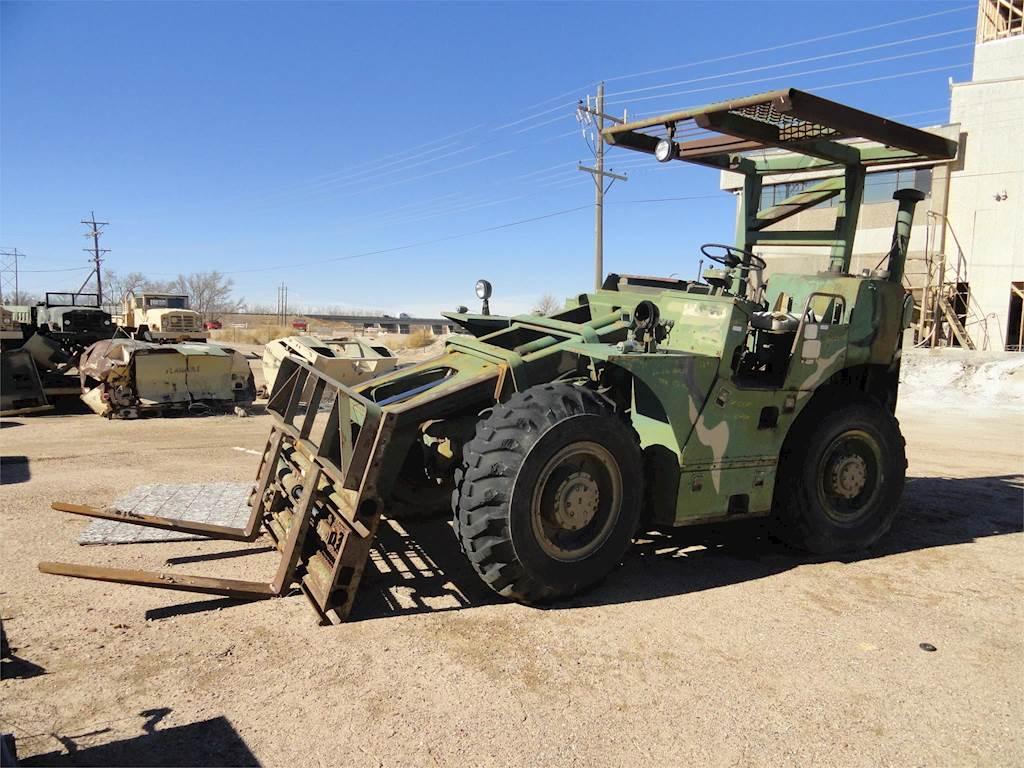 6.000 libbre. Carrello elevatore fuoristrada, modello militare, MLT 6, motore diesel Detroit 4-53. Telehandlers-Chrysler-MLT-6CH-11841090