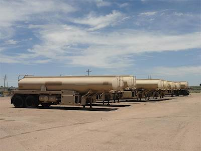 2009 Remtec M967 Water Tank Trailer