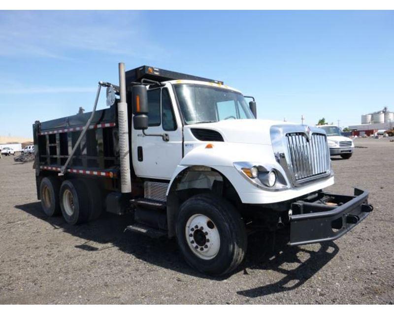 2011 International 7400 Sba 6x4 T A Dump Truck For Sale