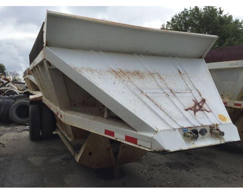 Alco bottom dump trailer