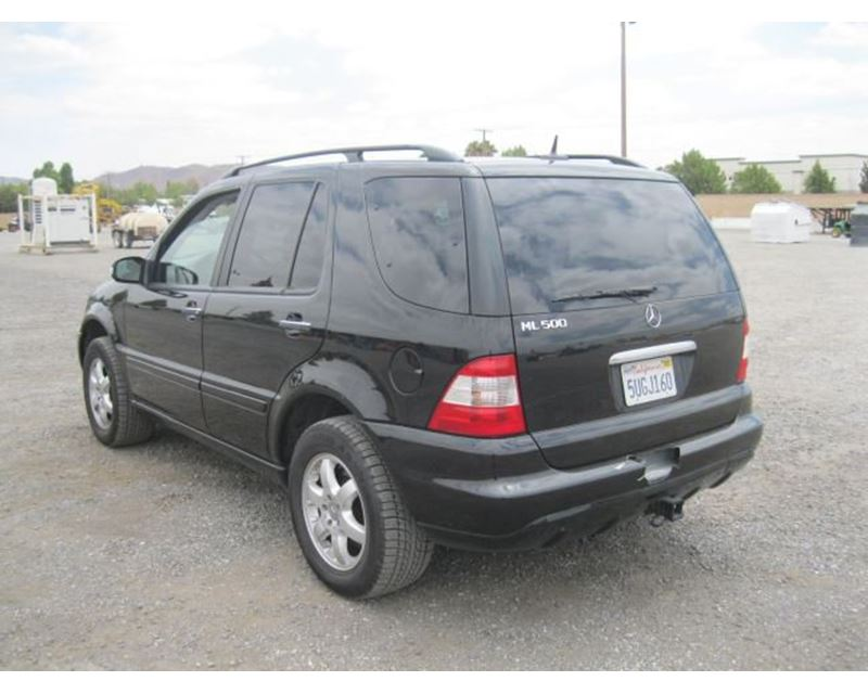 2002 mercedes benz ml500 suv for sale riverside ca