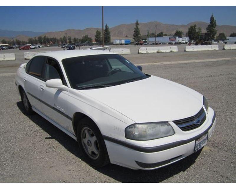 2002 chevrolet impala sedan for sale riverside ca. Black Bedroom Furniture Sets. Home Design Ideas