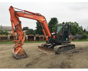 Hitachi ZX85USB-3 Crawler Excavator