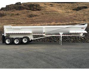 Manac 4K336AB30 End Dump Semi Trailer
