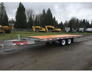 Olympic DT14-2E Flatbed Trailer