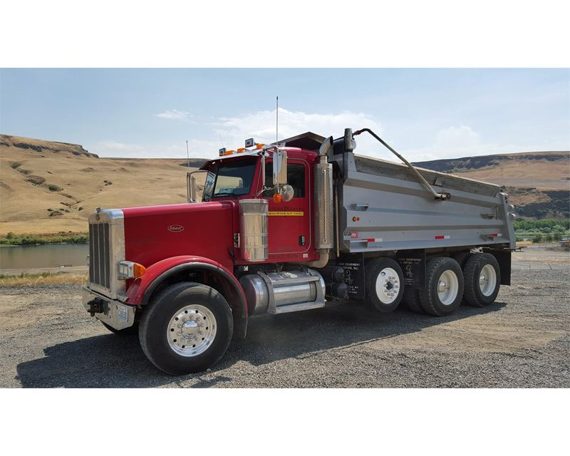 Feed Pictures - 2007 Peterbilt 378 Tri Axle Dump Truck For ...