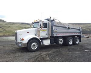 Peterbilt 378 Heavy Duty Dump Truck