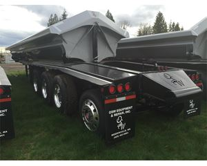 OSW Side Dump Semi Trailer