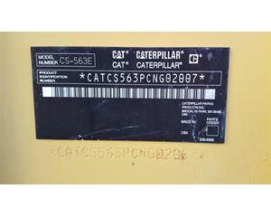 Caterpillar CS-563E Smooth Drum Compactor