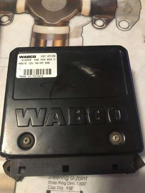 Used Wabco Abs Control Module Ecm Double Plug Has Part