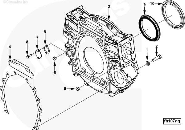 cummins isx engine part for sale