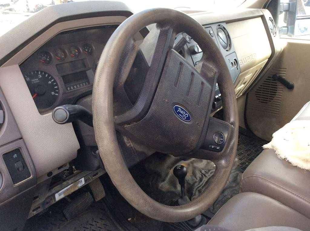 2008 ford f-350 steering column
