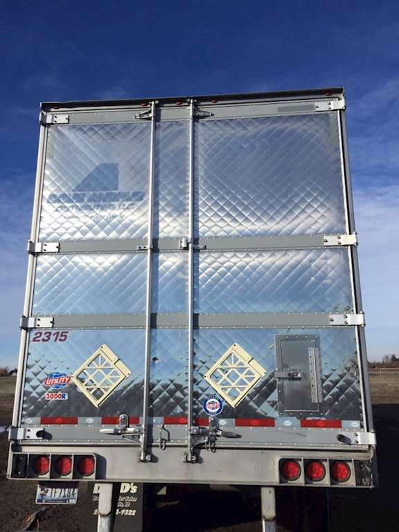 Nice Lh Stainless Door Off 2010 3000R Utility Reefer Trailer & Nice Lh Stainless Door Off 2010 3000R Utility Reefer Trailer For ...