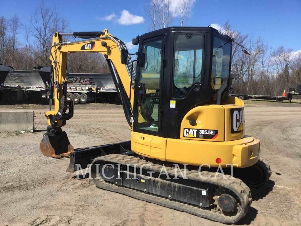 2016 Caterpillar 305 5E2 CR Mini Hydraulic Excavator