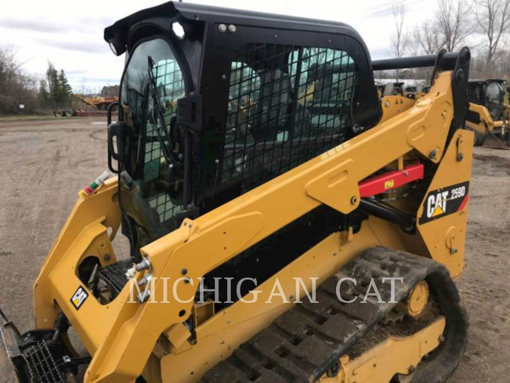 2017 Caterpillar 259D A2Q Skid Steer