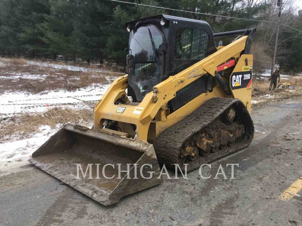 Track Loader For Sale >> 2017 Caterpillar 289d Compact Track Loader For Sale 631 Hours