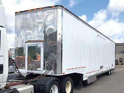 1993 Kentucky 6 Car Enclosed Automobile Transport Car Hauler Trailer